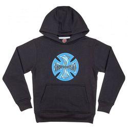 Bluza - youth coil hood black (black) marki Independent