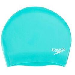 Speedo long hair czepek pływacki kobiety turkusowy 2019 czepki (5053744315027)