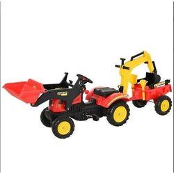 Aosom Traktorek z przyczepka + koparka