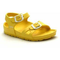 Gokids Sandały dla dzieci male żółte