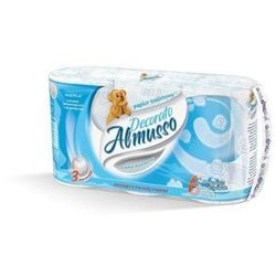 Papier toaletowy Almusso Decorato, 3 warstwy, celuloza - 36 rolek, 101250