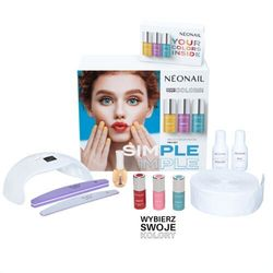 NEONAIL ZESTAW SIMPLE ONE STEP COLOR PROTEIN PRO STARTER SET (5903274099976)
