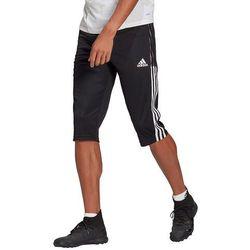 Adidas Spodnie męskie tiro 21 3/4 czarne gm7375