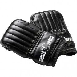 Rękawice bokserski małe, czarny l marki Gorilla sports