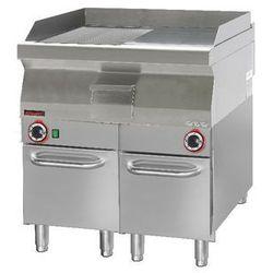 Płyta grillowa gazowa 700.PBG-800GR-C