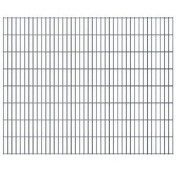 Panel ogrodzeniowy 2008x1630 mm, szary