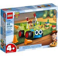 Klocki dla dzieci, Klocki LEGO Juniors 10766 Chudy i Pan Sterowany