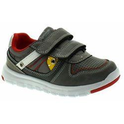 Buty sportowe dla chłopca American Club ES 33/19 Grey - Szary