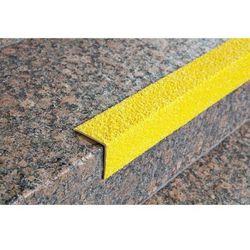 Profil schodów, żółty, opak. 2 szt., dł. 1500 mm. Stopień zapobiegania poślizgom