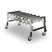 Pozostały sprzęt przemysłowy, Elastyczny przenośnik wałkowy, 620-950 mm, 130 kg