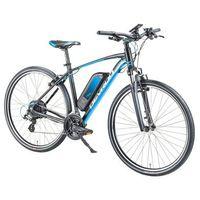 """Rowery elektryczne, Crossowy rower elektryczny Devron 28161 28"""" - model 2018, Czarny, 19"""""""