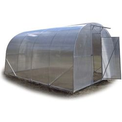 Tunel szklarnia Premium z poliwęglanu 6 mm rura stal ocynk. 3x6