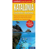 Przewodniki turystyczne, Comfort!map&guide Katalonia, Costa Brava 2w1 (opr. miękka)