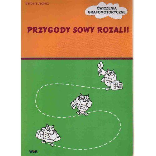Książki dla dzieci, PRZYGODY SOWY ROZALII. ĆWICZENIA GRAFOMOTORYCZNE (opr. broszurowa)