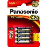Baterie, 8 x Panasonic Alkaline PRO Power LR03/AAA (blister)