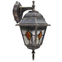 Lampy ścienne, Kinkiet zewnętrzny lampa ścienna Rabalux Monaco 1x60W E27 IP43 antyczne złoto 8181