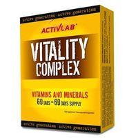 Pozostałe odżywki dla sportowców, Activlab Vitality Complex 60 tabletek - produkt w magazynie - szybka wysyłka!