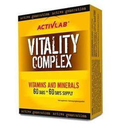 Activlab Vitality Complex 60 tabletek - produkt w magazynie - szybka wysyłka!