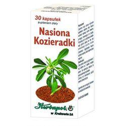 Nasiona Kozieradki kaps. - 30 kaps.