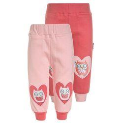 Gelati Kidswear WOODLAND 2 PACK Spodnie materiałowe dunkelrosa