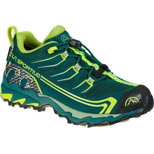 Trekking, La Sportiva Falkon Low GTX Shoes Kids, jungle/neon EU 27 2021 Buty turystyczne