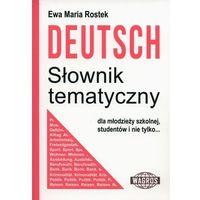 Książki do nauki języka, Deutsch. Słownik tematyczny WAGROS - Ewa Maria Rostek (opr. broszurowa)