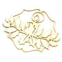 Ozdoby świąteczne, Dekoracyjny scrap - wigilijna świeczka - WGK