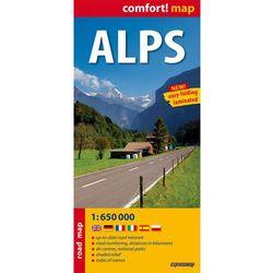 Alps laminowana mapa samochodowa 1:650 000 (opr. miękka)