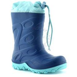 Kalosze / Śniegowce dla dzieci American Club - Granatowy ||Miętowy Obuwie zimowe -10% (-10%)