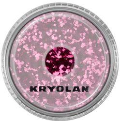 Kryolan POLYESTER GLIMMER COARSE (MAROON) Gruby sypki brokat - MAROON (2901)