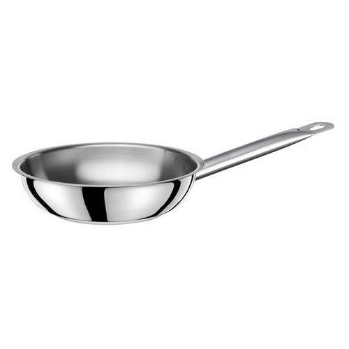 Patelnie gastronomiczne, Patelnia ze stali nierdzewnej- śr. 28 cm EXCLUSIVE