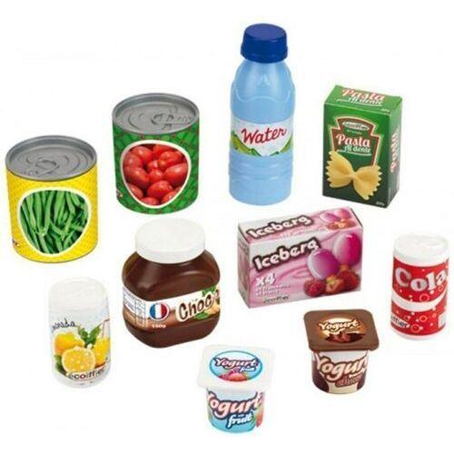 Pozostałe zabawki, Zestaw produktów spożywczych - puszki i pudełeczka - ecoiffier