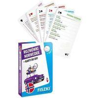 Książki do nauki języka, Rozmówki norweskie i Karty do gry 2w1 - KINGA PERCZYŃSKA (opr. twarda)