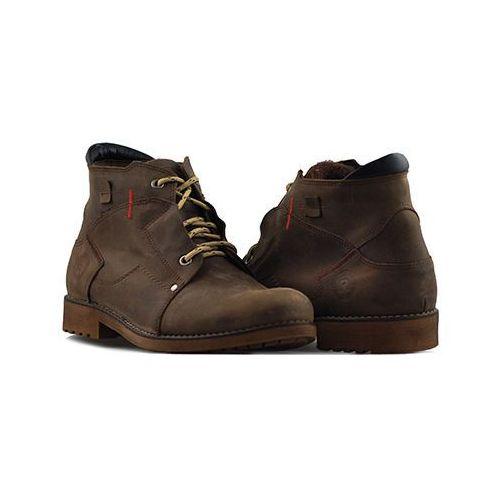 Pozostałe obuwie męskie, Rammit 840/2 CH14 Ciemne brązowe