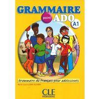 Książki do nauki języka, Grammaire point ado A1 + CD audio (opr. miękka)