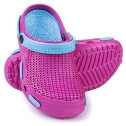 Spokey Fliper - klapki basenowe dziecięce r.34 (różowo-niebieski)