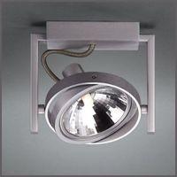 Pozostałe oświetlenie wewnętrzne, Reflektor Philips Futura/Fast 1x42W G9 aluminium 53060/48/16