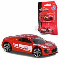Osobowe dla dzieci, Majorette Samochodzik Auto FC Bayern Monachium Robert Lewandowski Audi R8 Coupé