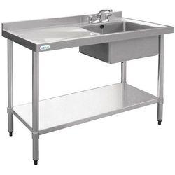 Stół roboczy ze zlewem | 1000x600x(H)900mm