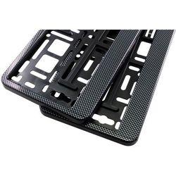 Ramki pod tablicę rejestracyjną HP Karbon 2 szt - Carbon