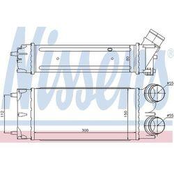 Chłodnica powietrza doładowującego - intercooler NISSENS 96626