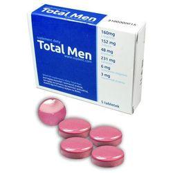 Skuteczny Sposób na Mocną Erekcję Total Men 5 caps | 100% DYSKRECJI | BEZPIECZNE ZAKUPY