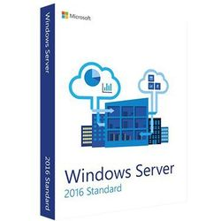 Windows Server 2016 Standard (16 cores) 32/64 bit