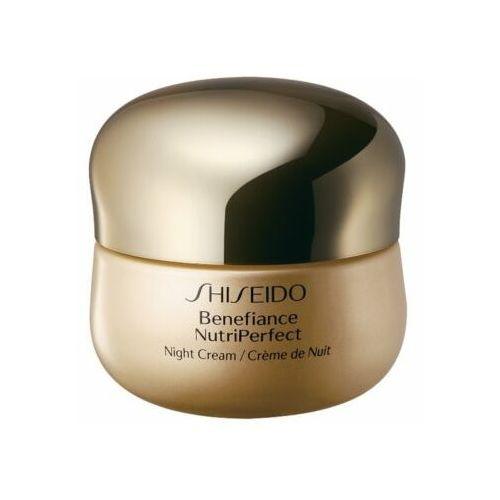 Kremy na noc, Shiseido Benefiance NutriPerfect Night Cream rewitalizujący krem na noc przeciw zmarszczkom 50 ml