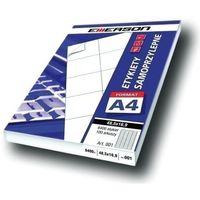 Etykiety biurowe, Etykiety 68 X 35,0 mm, 24 szt/A4 EMERSON uniwersalne (G) - X06658