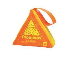 Gry dla dzieci, Triominos Sunshine - pomarańczowy - Goliath Games