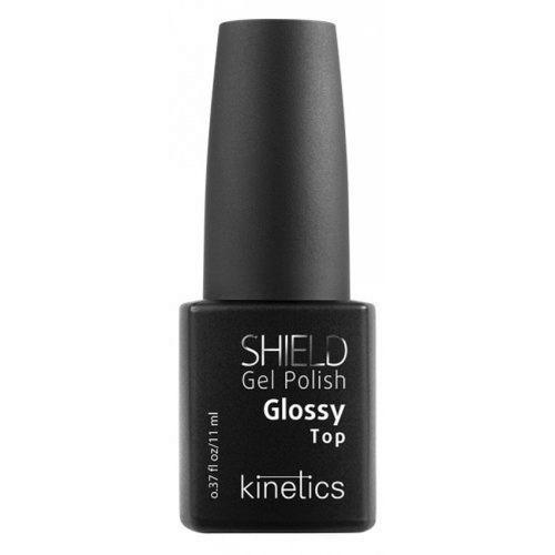 Lakiery do paznokci, Kinetics Shield TOP GLOSSY Hybrydowy lakier nawierzchniowy