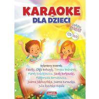 Książki dla dzieci, Karaoke dla dzieci + CD/DVD - Praca zbiorowa (opr. twarda)