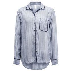 GAP PIPING Koszulka do spania grey stripe