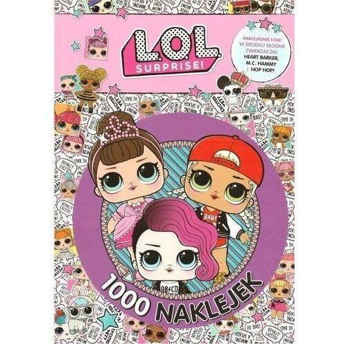 Książki dla dzieci, L.O.L Surprise! 1000 naklejek (opr. broszurowa)